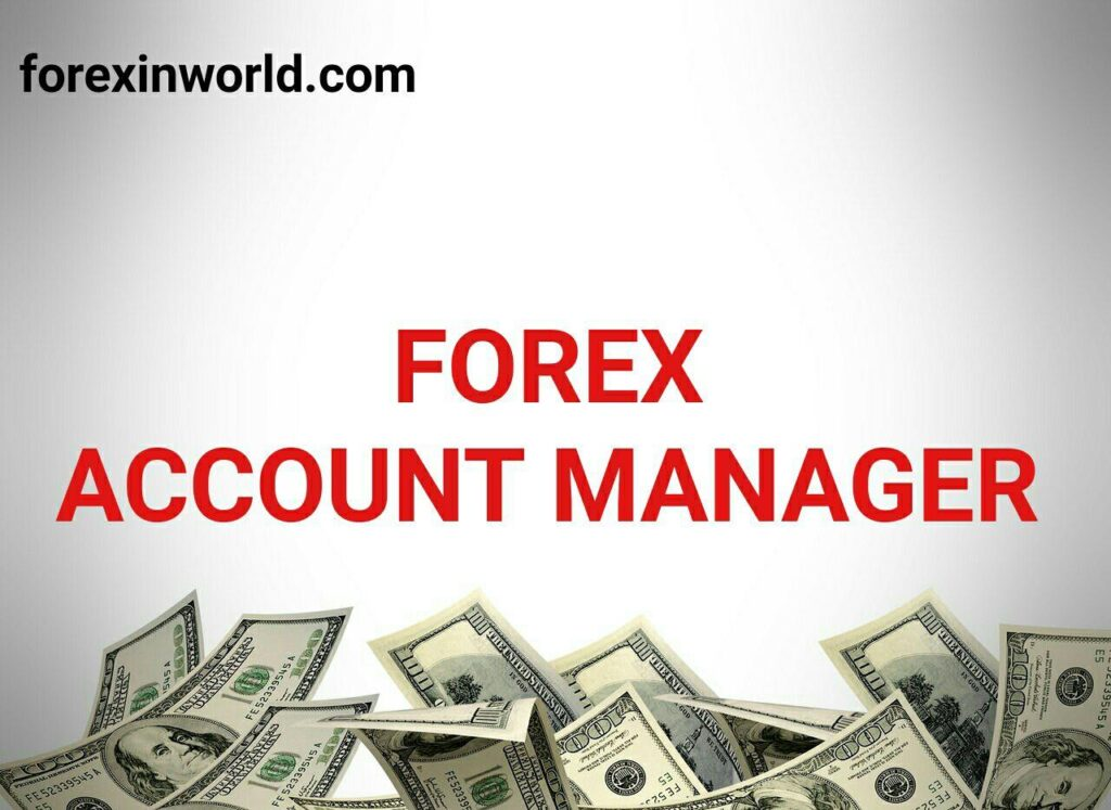 forex account manager